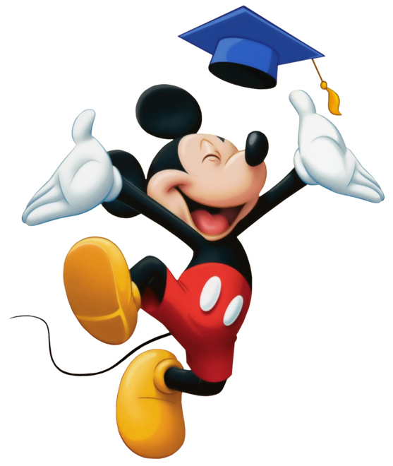 Mickey Mouse Graduation
